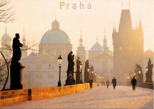 Postcards - Praha, Czech