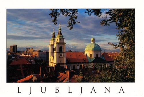 Postcards - Ljubjana, Slovenia