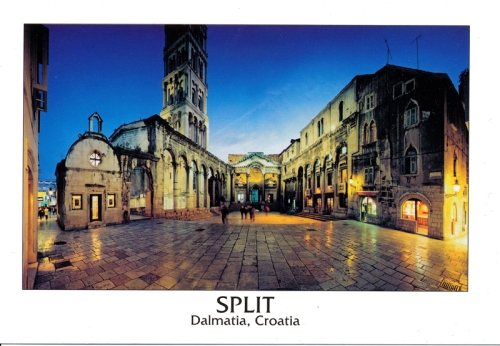 Postcards - Split, Croatia
