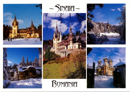 Postcards - Sinai, Romania