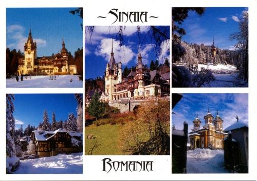 Postcards - Sinai, Romania