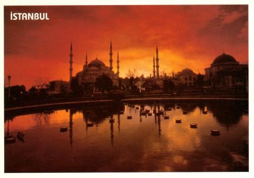 Postcards - Istanbul, Turkey