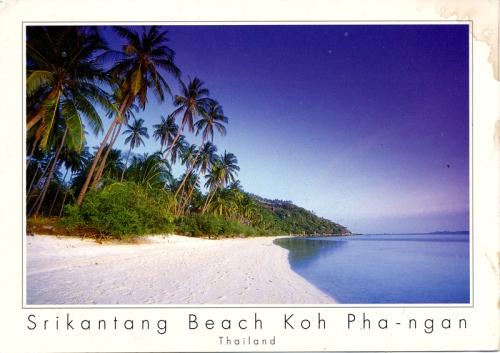 Postcards - Srikantang Beach, Koh Phang Ngan, Thailand