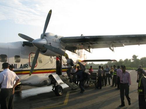 Kathmandu Airport - Agni Airlines