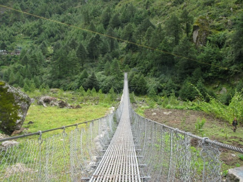Everest Base Camp Trek - Suspension Bridge