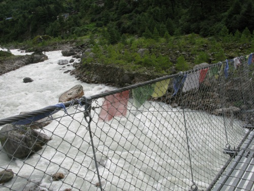 Everest Base Camp Trek- Suspension Bridge