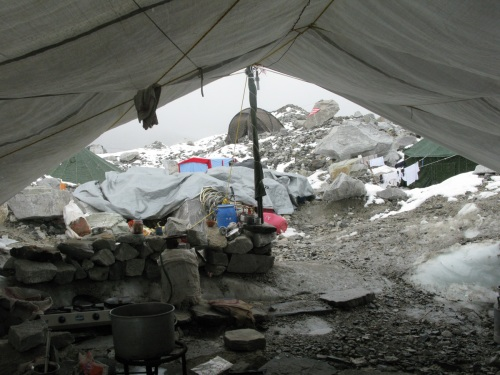 Everest Base Camp Trek- Kitchen