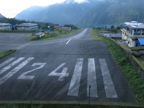Lukla Airport Runway - Everest Base Camp