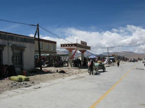 Tibet Tour - streets