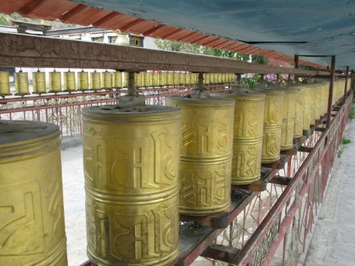 Tibet Tour - Prayer Wheels