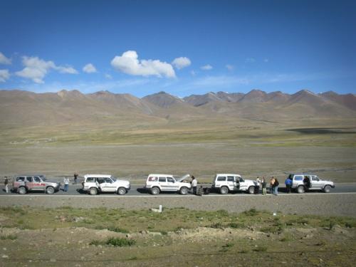 Tibet Tour - Land Cruisers