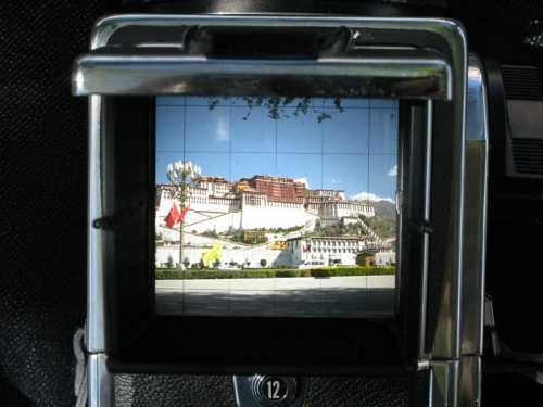 Tibet Tour - Potala Palace Hasselblad