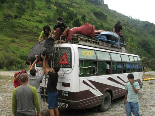 Nepal - Kali Gandaki Rafting Tour Bus