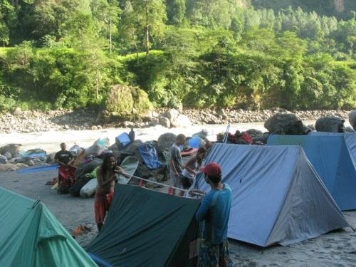 Nepal - Kali Gandaki Rafting Tour Camping