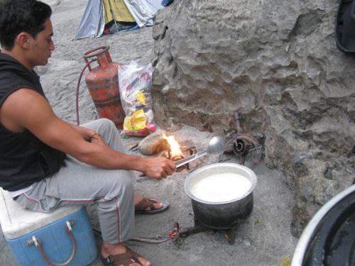 Nepal - Kali Gandaki Rafting Tour Food