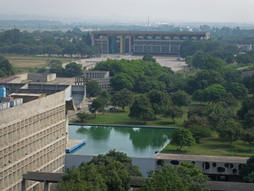 Chandigarh, India - Capitol Complex, Secretariat View