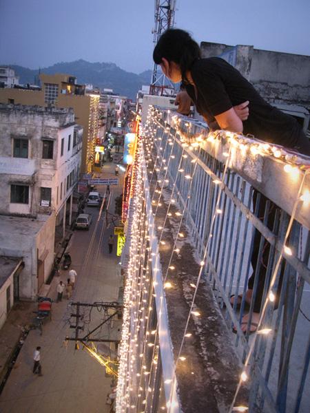 Haridwar, India - Rooftop, Paula Birch