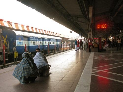 Haridwar, India - Train Station