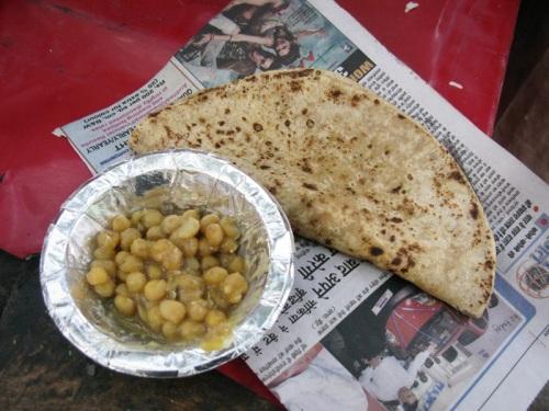 Pahar Ganj, Delhi - Breakfast