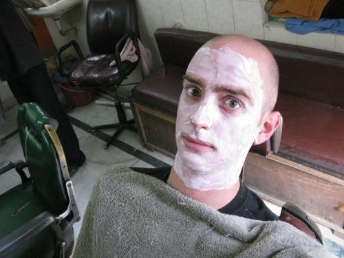 Pahar Ganj, Delhi - Hair Cut?