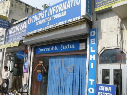 Delhi, India - Fake Official Government Tourist Office