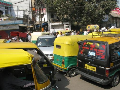 Pahar Ganj, Delhi - Tuk Tuk Chaos