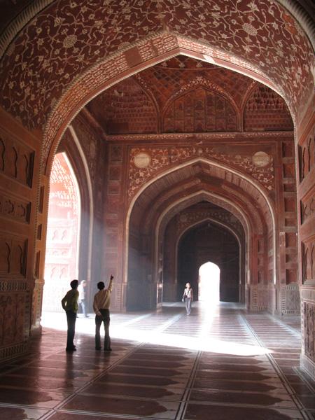 Taj Mahal Red Section India