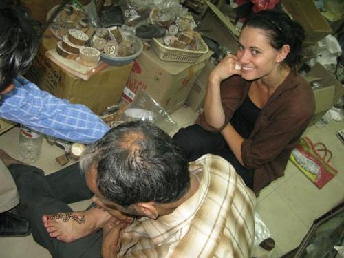 India - Foot Henna