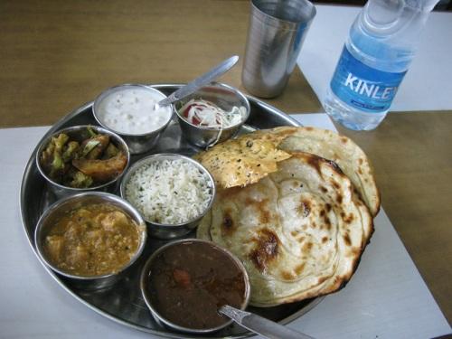 India, Veg Special Thali