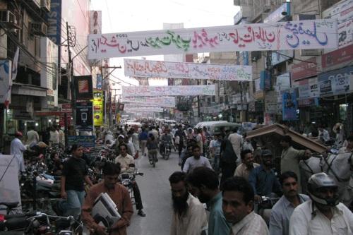Hall Rd Electronics Market, Lahore, Pakistan